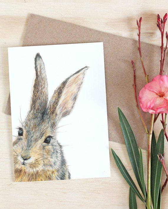 Rabbit Card, Bunny card, Hare card, SoE