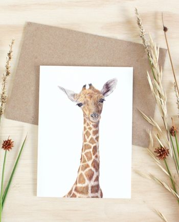 Giraffe Card, Plain SoE
