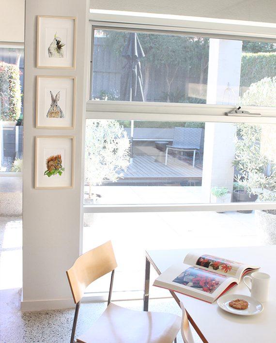 Squirrel Mini Print Home styling