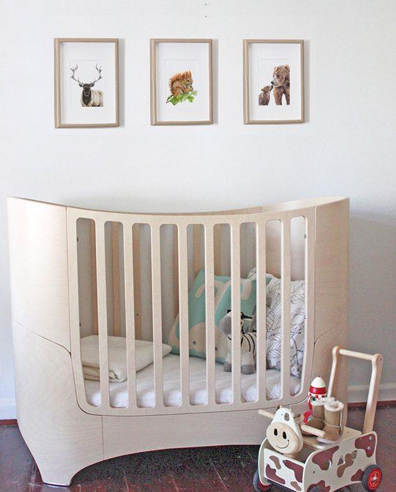 Squirrel Mini Print Nursery Children's bedroom