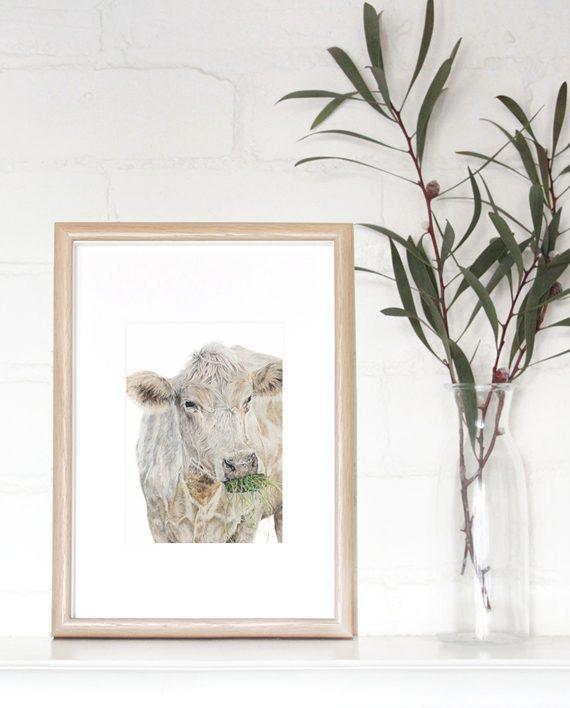 Cow mini print State of Eden