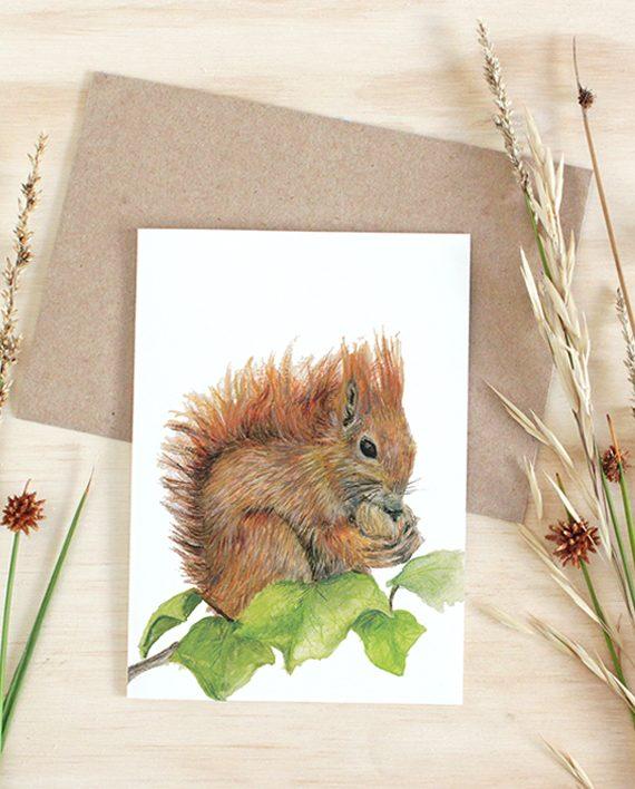 Squirrel Card State of Eden
