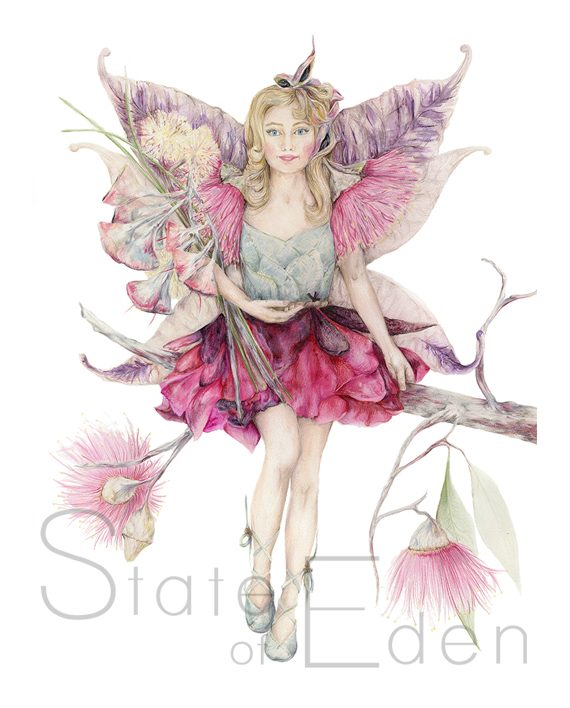 Fairy Print Mythical Eden Artwork State of Eden