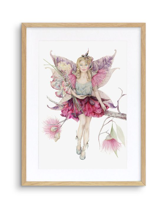 Fairy Print Mythical Oak Frame State of Eden