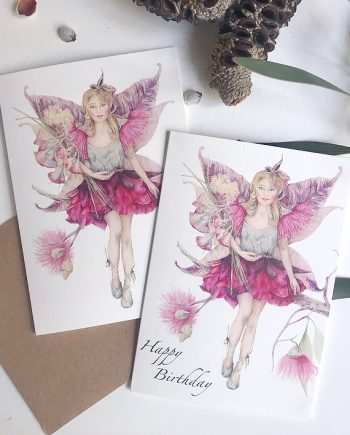 Fairies Fairy Card Childrens birthday State of Eden