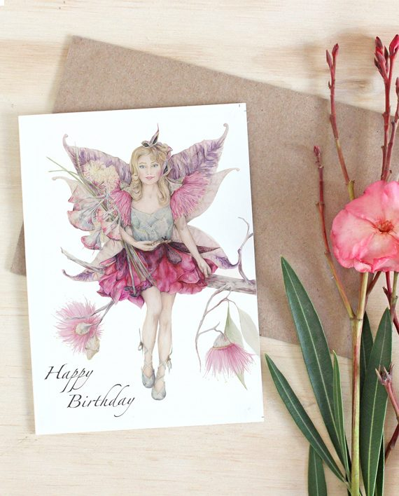 Fairy Happy Birthday Card State of Eden