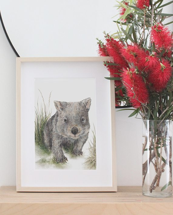 Wombat Print State of Eden