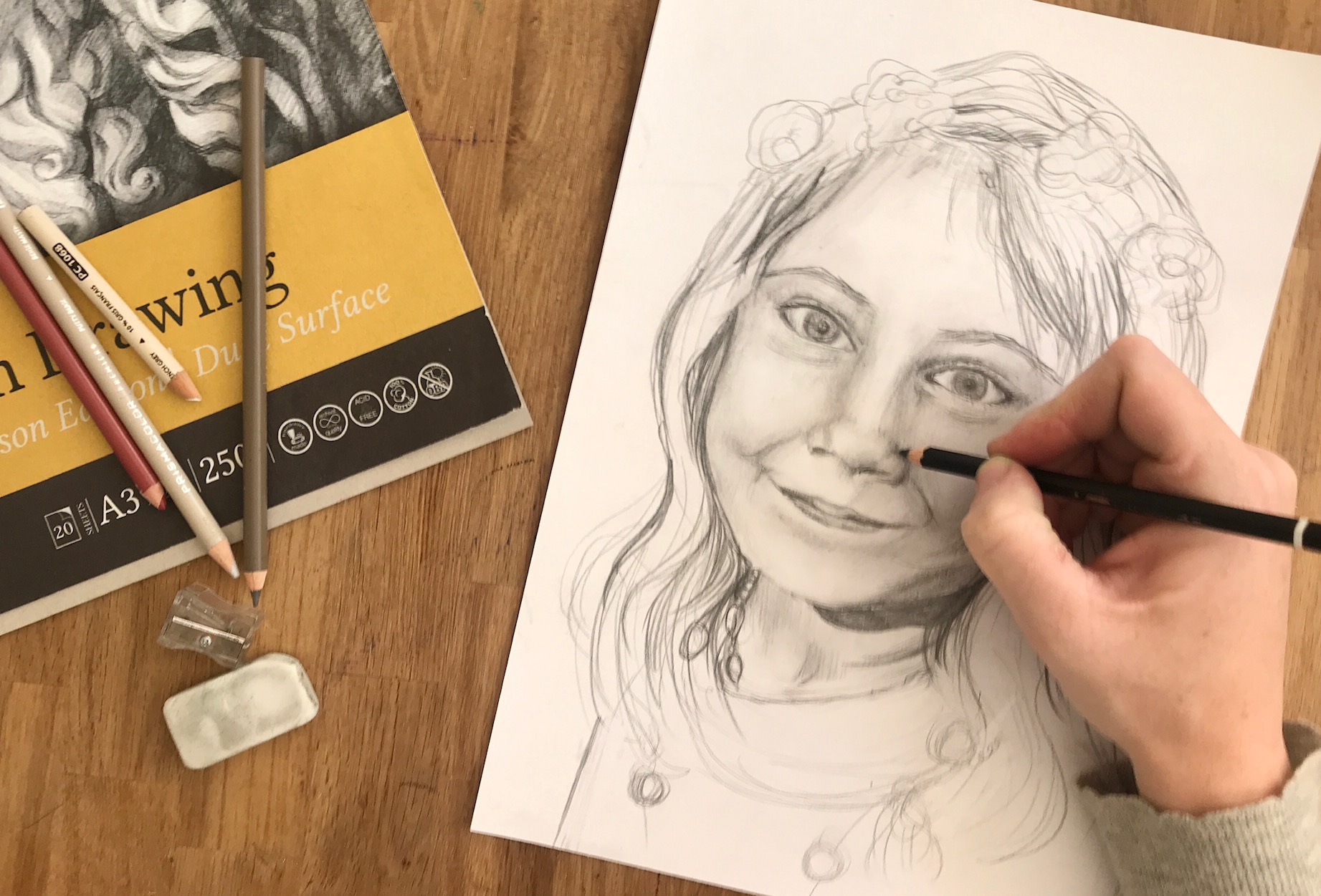 Portraiture Drawing Class